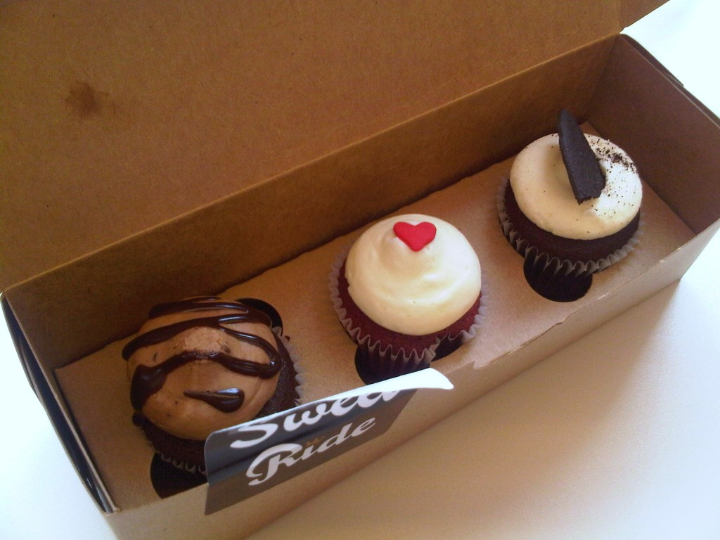 Sweet Ride Cupcakes