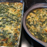 In the Box — CSA Week 2 {Cheesy Spinach}