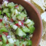 In the Box — CSA Week 20 {Tomatillo Banana Salsa}