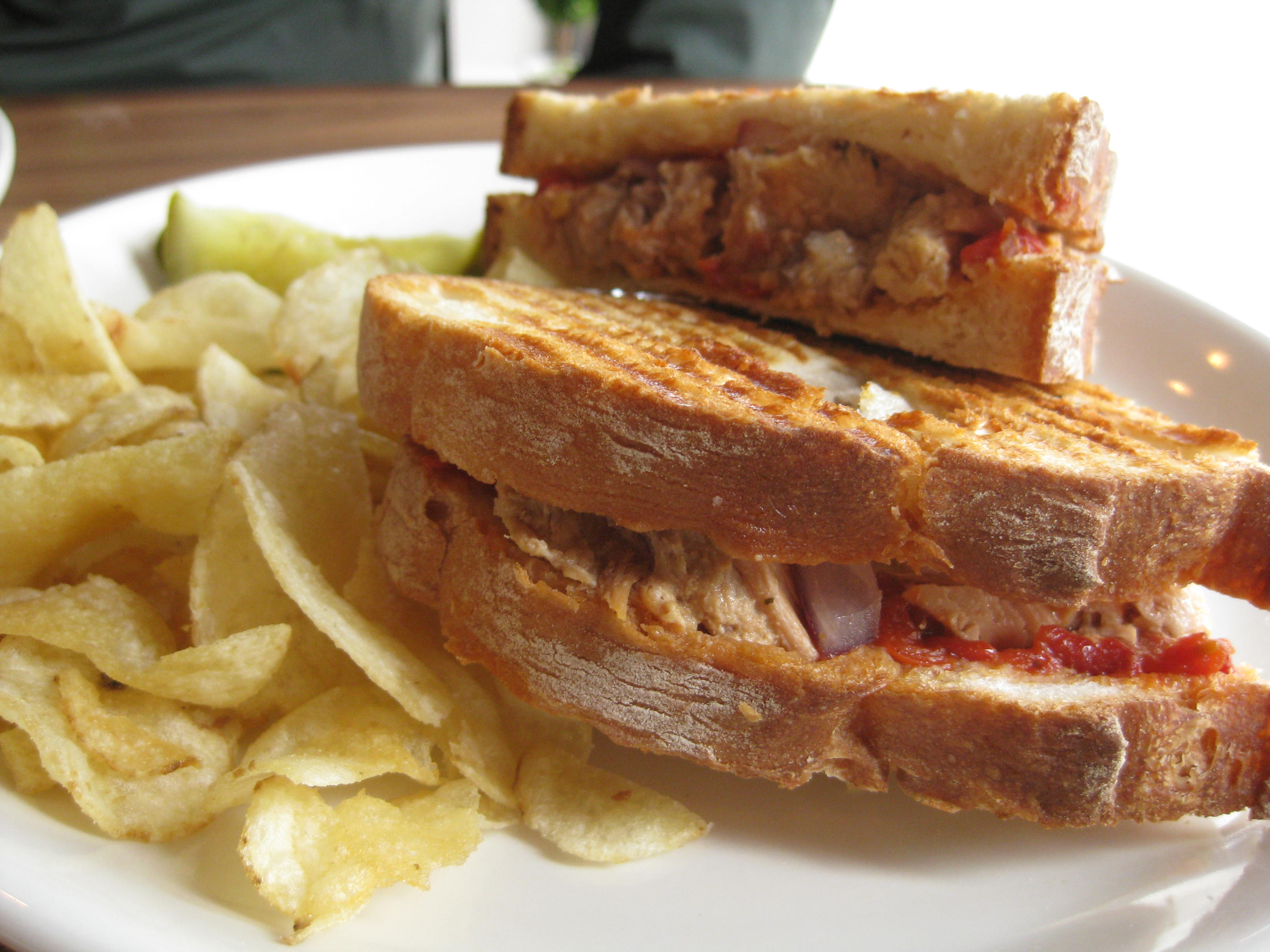 pork belly panini