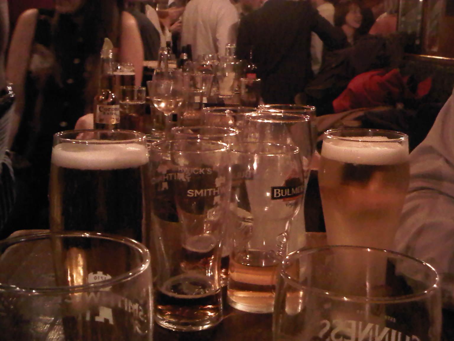 empty pints