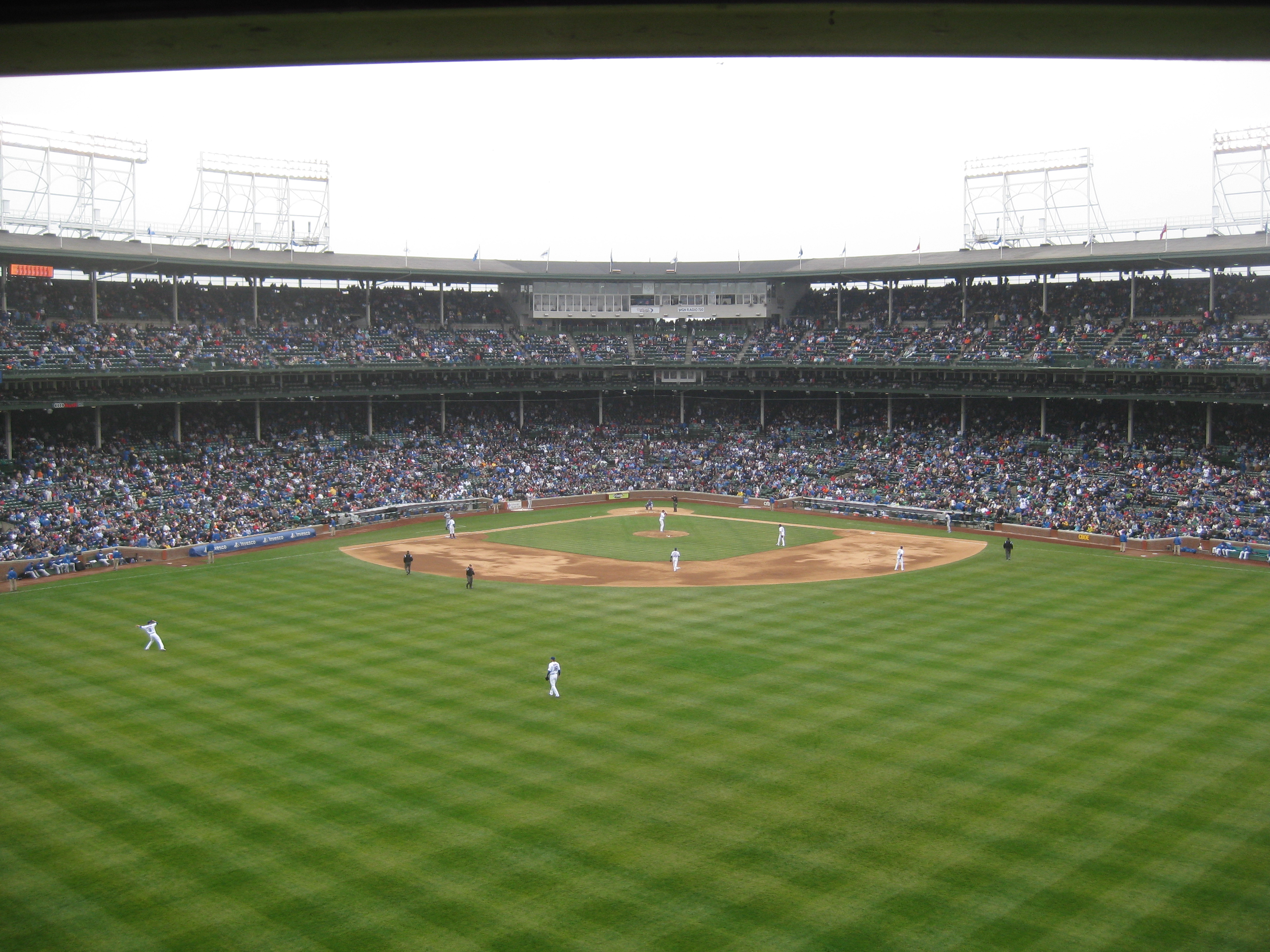 Cubs bleachers