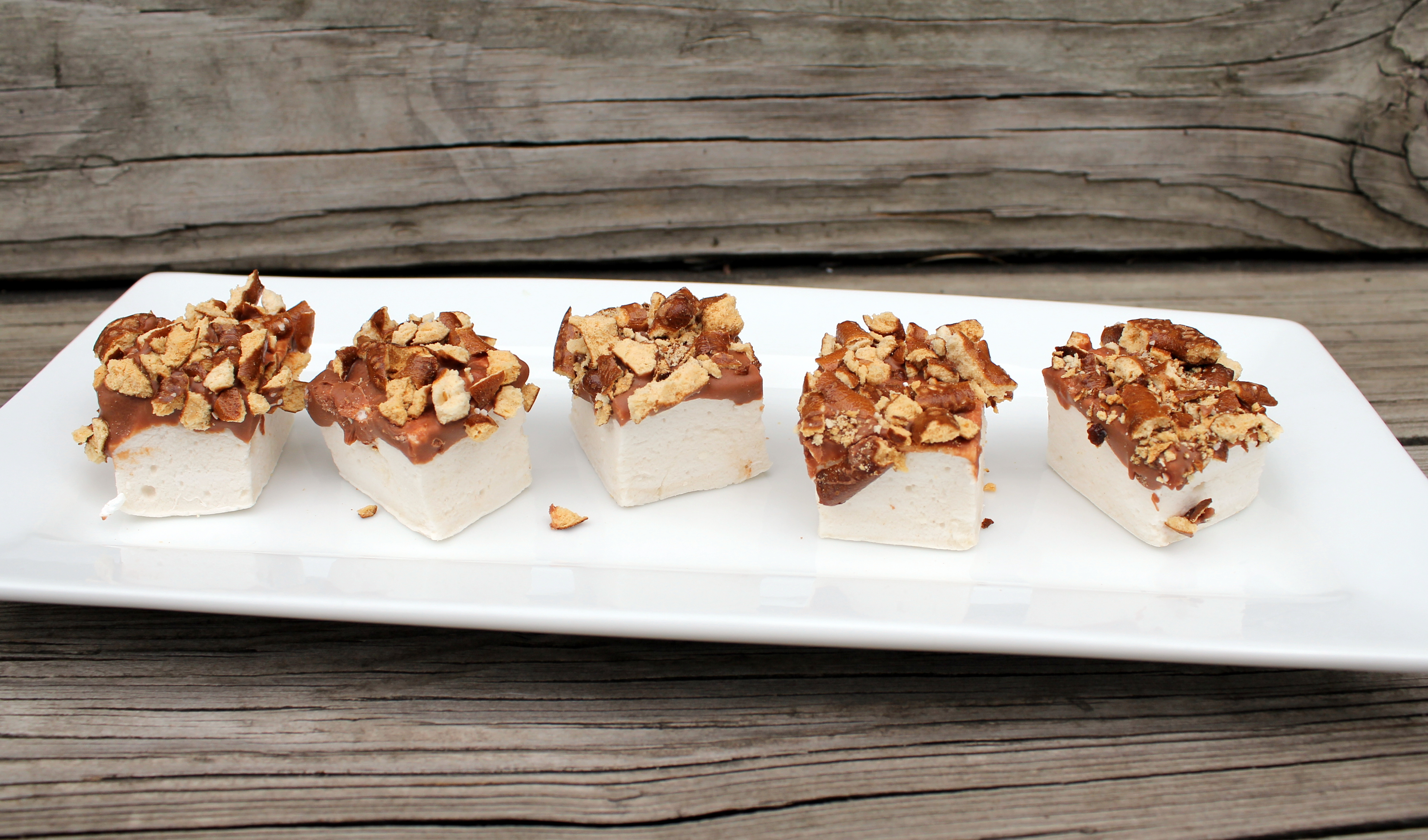 Beer Marshmallows Dipped In Chocolate And Pretzels | Jax House