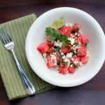 Summer Supper {Spicy Watermelon Salad}