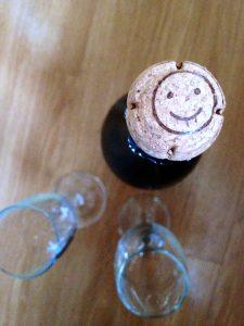 smiling prosecco