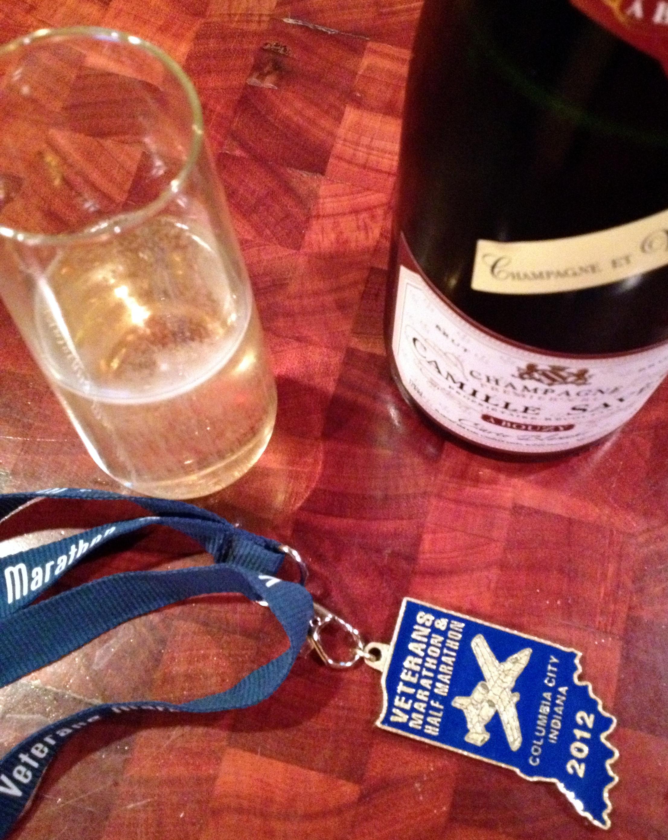 veterans marathon 2012