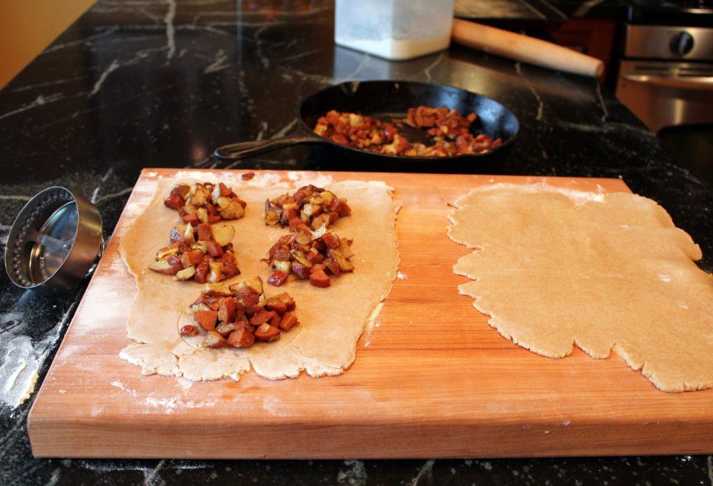 Chorizo and Potato Hand Pie