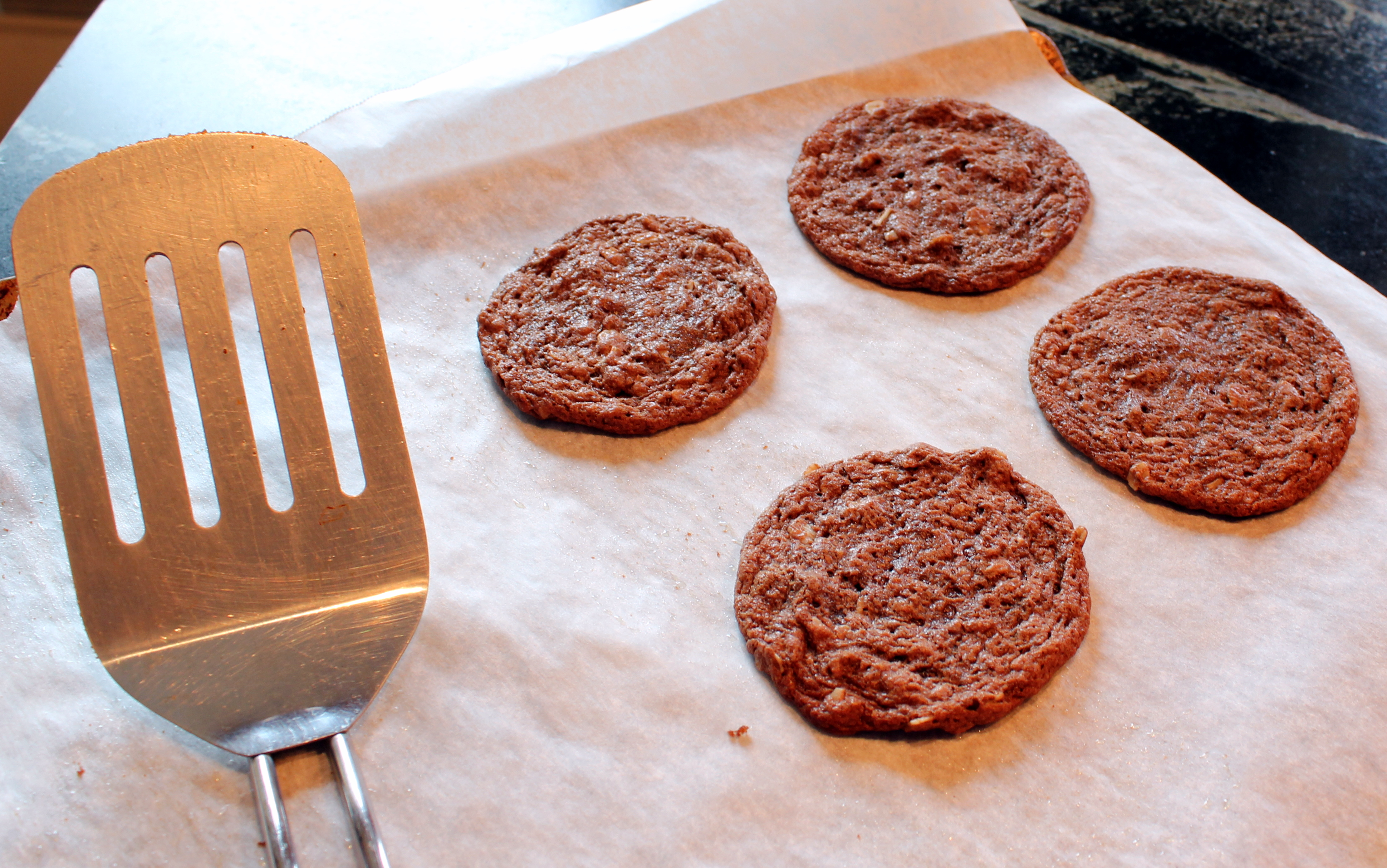 nutella peanut butter oatmeal cookies