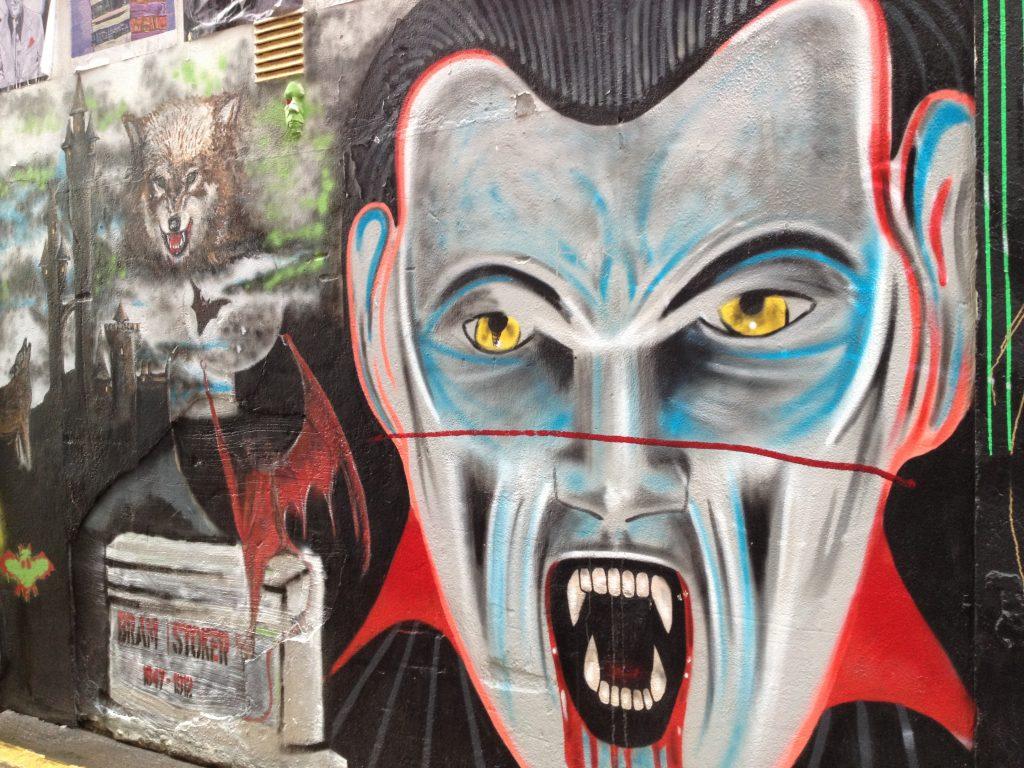 Dublin alley art