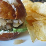 Lentil Sliders with Spicy Caramelized Onions
