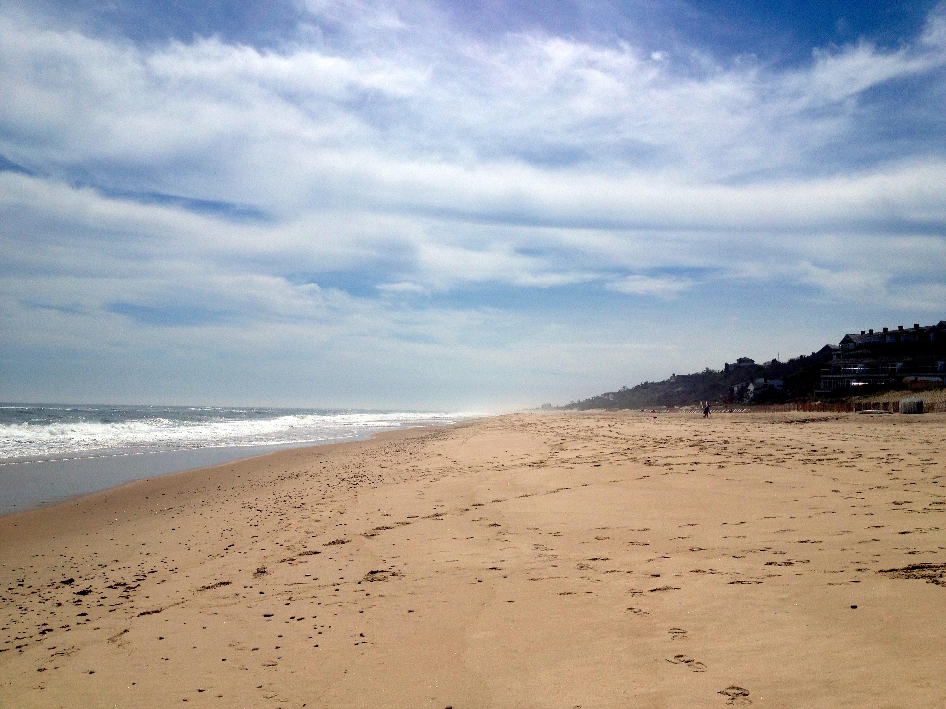 Montauk beach walk