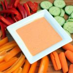 Derby Dip {Roasted Red Pepper Dip}