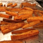 Sweet Potato Wedges with Lemongrass Dipping Sauce