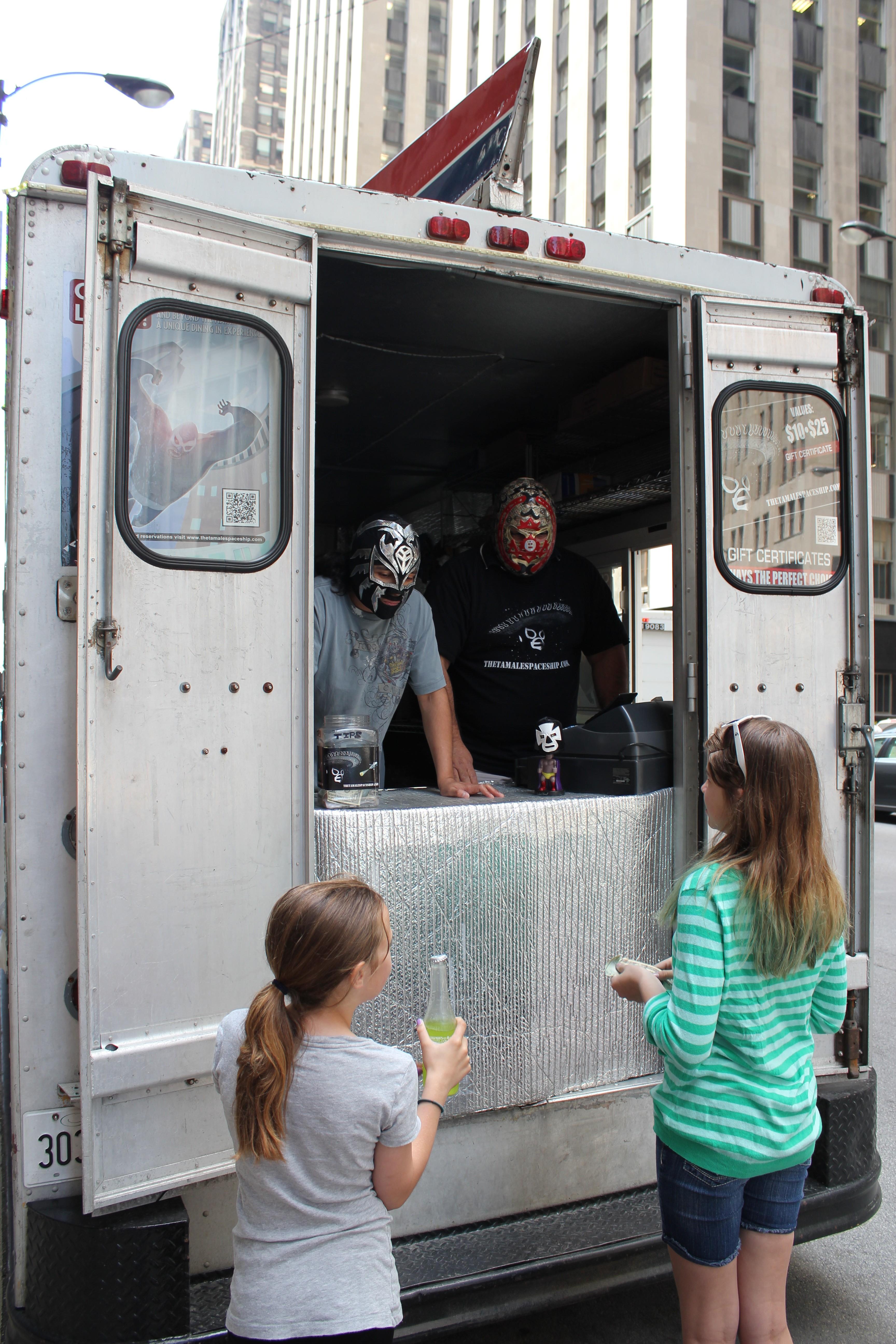 Tamale Spaceship Food Truck