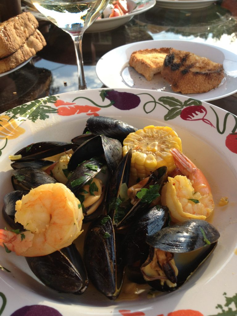 shrimp, mussels and chorizo (13)