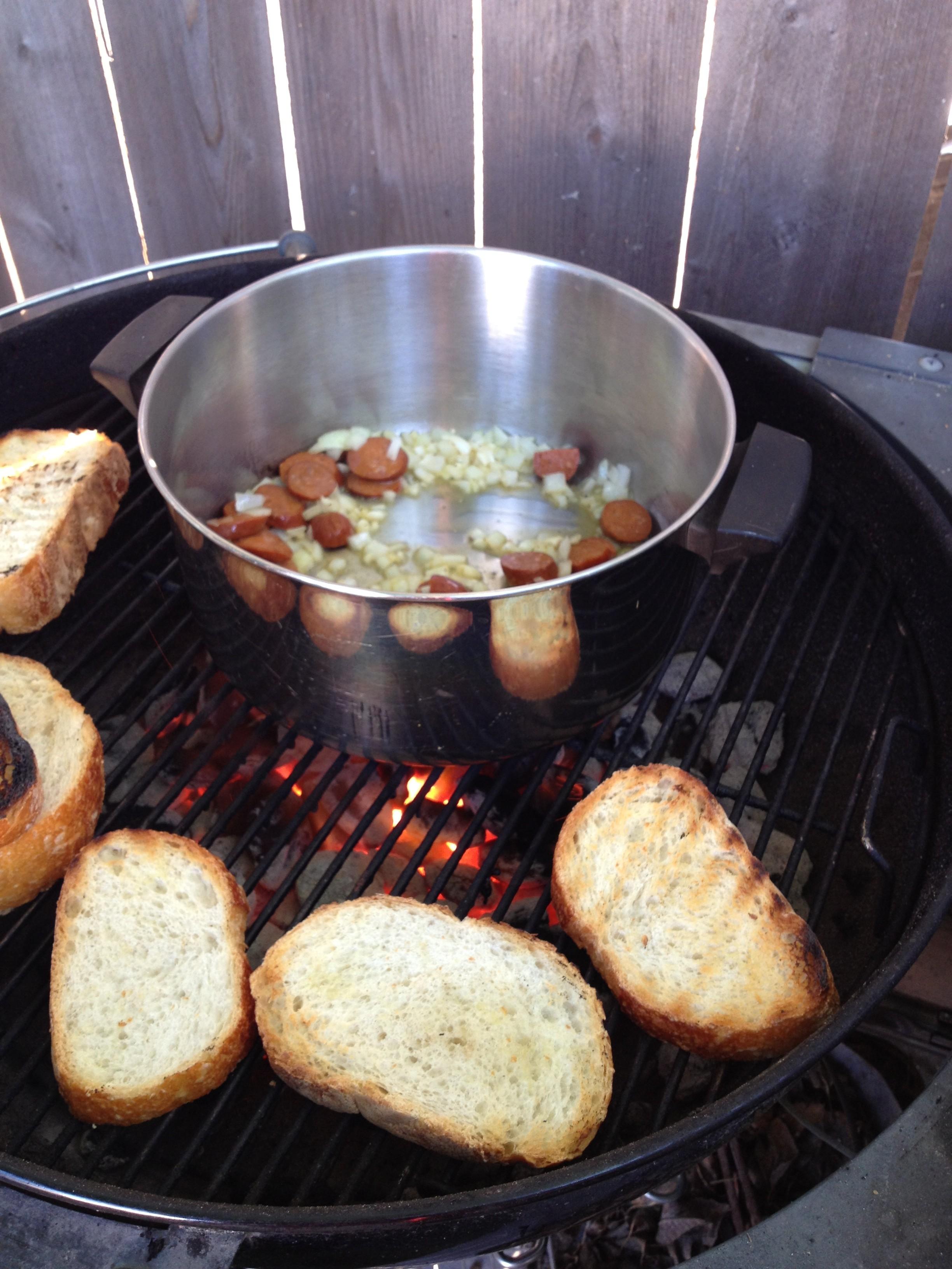shrimp, mussels and chorizo (2)