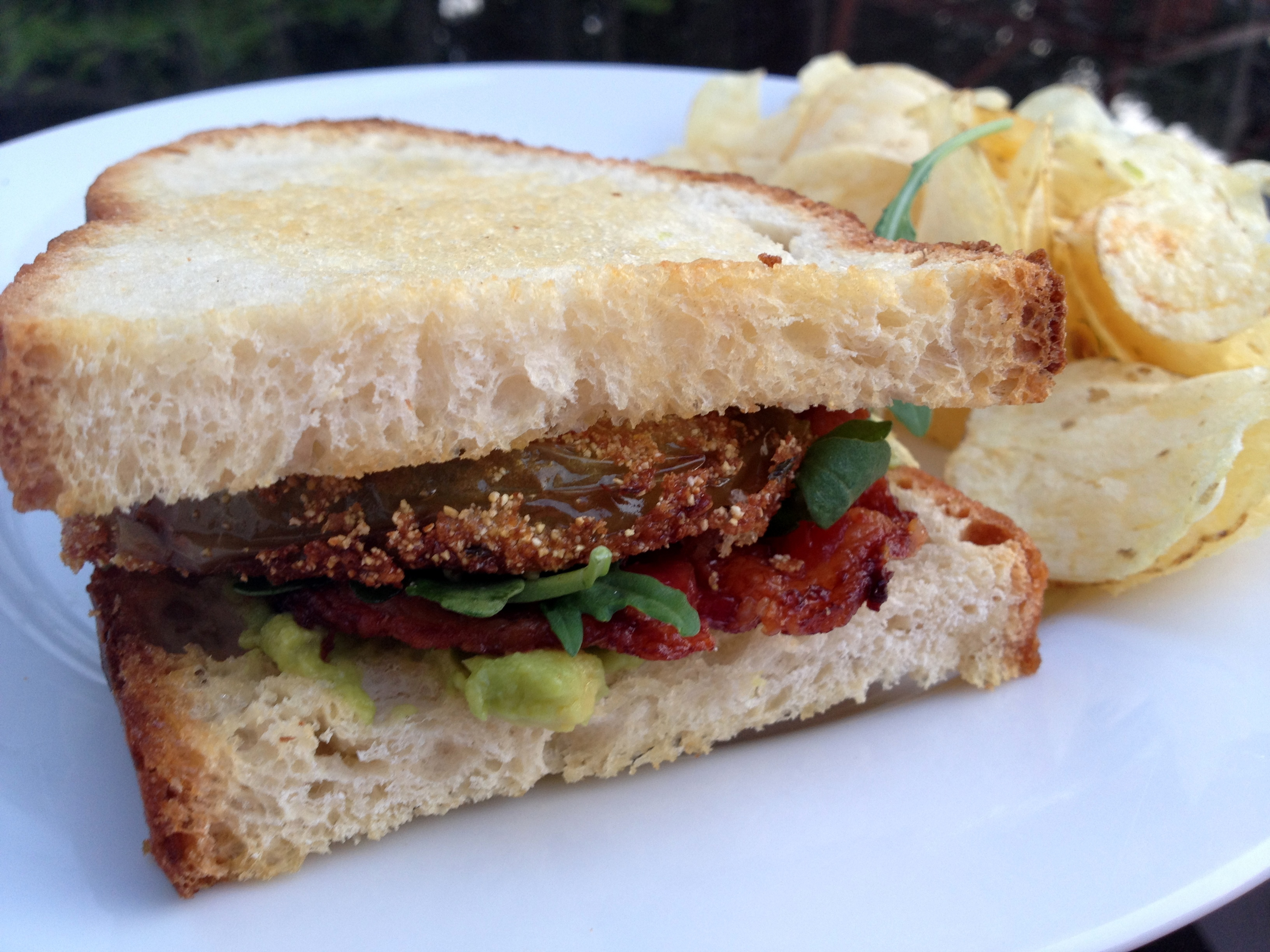 Fried Green Tomato BLT | Jax House