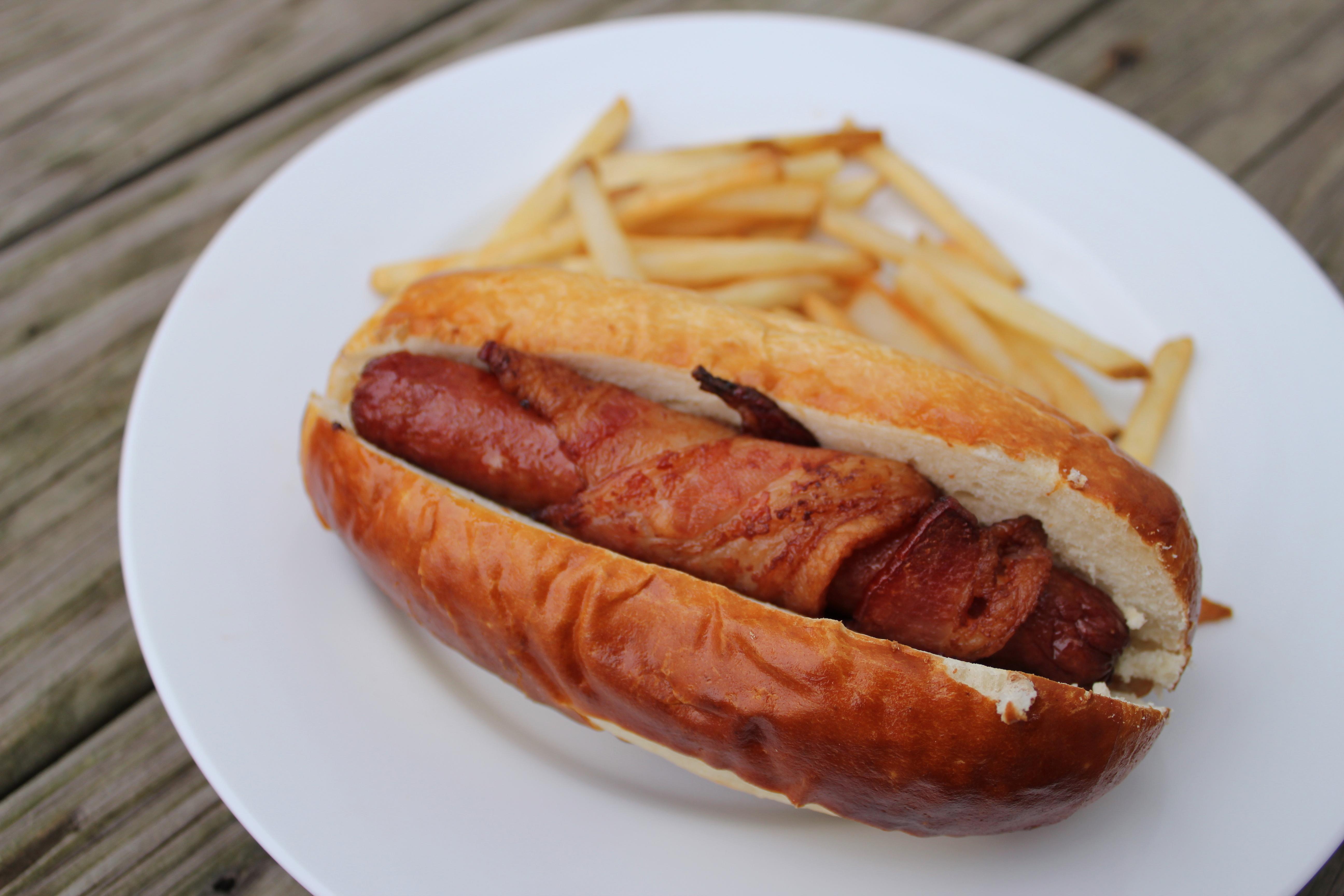 hotdog plain