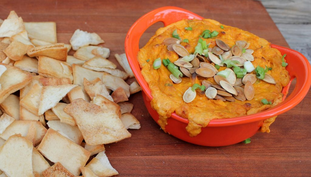 Pumpkin Cheddar Dip