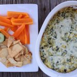 Friends and Football {Artichoke and Spinach Dip}