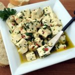 Commute Free Cooking {Spicy Herbed Feta}