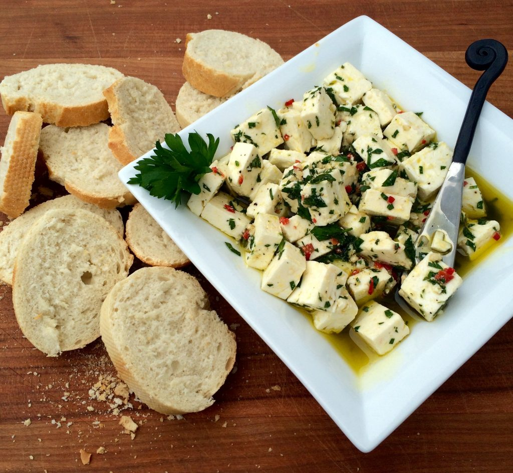 Spicy Herbed Feta