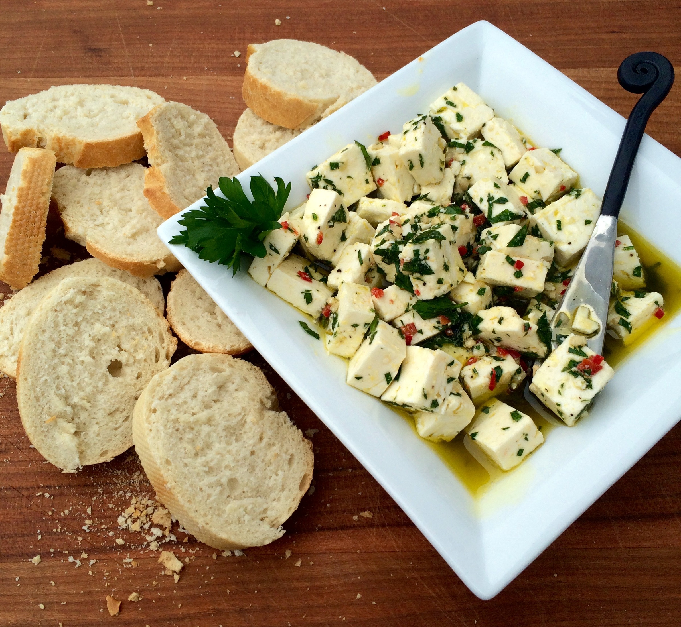 Herbed Spicy Feta