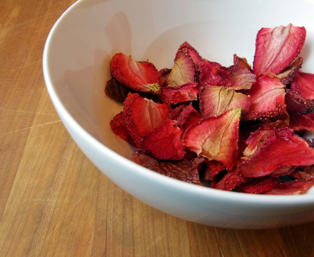 Oven Dried Strawberries