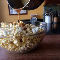 easiest caramel corn