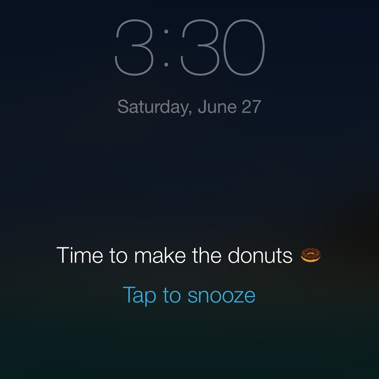donut alarm