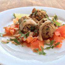 Thai Quinoa Meatballs